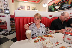 Mum's birthday at Big Mo's Diner (ec1jack) Tags: ec1jack kierankelly canoneos600d birthday april spring diner london england britain uk europe bigmosdiner whitechaple party celebration eating