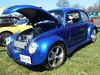 1975 Volkswagen Beetle (splattergraphics) Tags: 1975 volkswagen beetle vw customcar v8beetle volksrod carshow romancingthechrome jarrettsvillemd