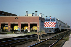 RTA F40PH 132 (Chuck Zeiler) Tags: rta f40ph 132 railroad emd locomotive chicago train chuckzeiler chz yard