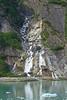 another falls (WORLDS APART PHOTO) Tags: alaska alaskancruise dawesglacier endicottarm ice iceberg beauty beautiful pristine nature wilderness rockformations rock waterfalls landscape