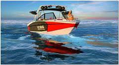 Analyse Dean testing a new boat_2018-05-02_005 (Jami Burnstein) Tags: secondlife dutch harbor analysedean