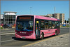 36045, Bedford Road (Jason 87030) Tags: enviroe e200 cancer special livery pink bedfordroad northampton bus bedford 41 sunny may 2018 pretty color colpour northants sony ilce alpha a6000 nex lens tag flickr wheels publictransport route service