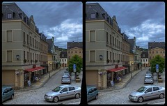 Marktplatz, Reichenbach 3-D / CrossView / Stereoscopy / HDRaw (Stereotron) Tags: saxony sachsen vogtland reichenbach europe germany deutschland crosseye crossview xview pair freeview sidebyside sbs kreuzblick 3d 3dphoto 3dstereo 3rddimension spatial stereo stereo3d stereophoto stereophotography stereoscopic stereoscopy stereotron threedimensional stereoview stereophotomaker stereophotograph 3dpicture 3dimage twin canon eos 550d yongnuo radio transmitter remote control synchron kitlens 1855mm tonemapping hdr hdri raw