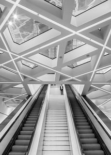 Stairway Porsche Museum