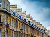 Terrace houses in Bath. (debbiegould97) Tags: terrace houses victorian chimneys sky buildings angles