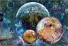 Blown bubbles (PaulO Classic. ©) Tags: photoshop picmonkey canon eos450d textures