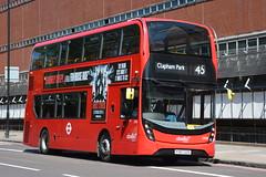 YY67 GZS (2596) Abellio London (hotspur_star) Tags: londontransport londonbuses londonbus londonbuses2018 alexanderdennisltd enviro400hmmc tfl transportforlondon hybridbus hybridtechnology busscene2018 doubledeck abelliolondon yy67gzs 2596 45