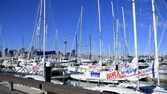 Westhaven Marina, Auckland, New Zealand (Sandy Austin) Tags: panasoniclumixdmcfz70 sandyaustin auckland westhaven marina northisland newzealand pacificocean boats yachts waitemataharbour