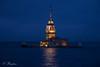 Kız Kulesi (Maiden's Tower) (SBastan) Tags: marmara türkiye turkey boğaziçi bosphorus deniz sea seaandsky denizvegökyüzü magical architecture mimari yansımalar suyansımaları reflection waterreflections clouds denizvebulutlar serhatbaştan sbastan beauty photography