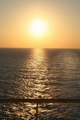The sun....🌅 (carlesbaeza) Tags: sunset sun sol sea boat yellow travel landscape ngc