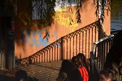 the shadow (Hayashina) Tags: camden london shadow fence hff
