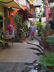 Siem Reap alley (hasor) Tags: siem reap cambodia southeastasia alley shops tourist