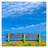 Hilltop Bench (Timothy Valentine) Tags: 2018 large bench bluehillsreservation sky 0418 monday milton massachusetts unitedstates us