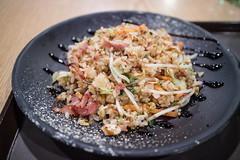 Bacon Fried Rice. (Kim Jin Ho) Tags: bacon seoul korea famous place travel destination jamsil lotte tourist