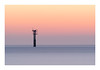 The Tower (jos.pannekoek) Tags: seascape schouwen zeeland longexposure le 70200f4 nikon d500 beach strand sunset zonsondergang twilight haamstede