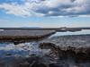 Lake Superior and Thunder Bay's Sleeping Giant (Jan Whybourne) Tags: lakesuperior sleepinggiant thunderbay water ice ship laker sky blue freeze sleeping giant pans