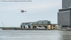 Wall Street Heliport (20180505-DSC05678) (Michael.Lee.Pics.NYC) Tags: newyork heliport helicopter eastriver lowermanhattan flight watertaxi ferry boat maritimeterminal governorsisland statenislandferry architecture cityscape sony a7rm2 fe24105mmf4g
