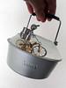 1061 (dela7) Tags: downunderchallenge1061 pot kettle steambike metal man hand handle wheel steamenginebike