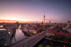 Fischerinsel Sunset Berlin (Sascha Gebhardt Photography) Tags: nikon nikkor d850 1424mm haida hauptstadt berlin germany deutschland fototour fx photoshop travel tour reise roadtrip reisen langzeitbelichtung lightroom