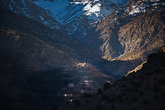 Atlas Mountains (Mathijs Buijs) Tags: village shadow snow atlas mountains mountain range morocco northern africa canon eos 5d mk mark iii nature toubkal