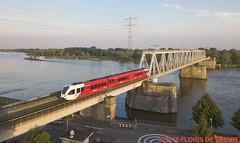505_Sliedrecht-Baanhoek_150518 (florisdeleeuw) Tags: merwede arriva baanhoekbrug explore rivier sliedrecht gtw treinstel 505 copier geldermalsen dordrecht qbuzz
