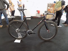 Spin Bike Show 17-05-12 (14) (Funny Cyclist) Tags: bike velo rad bici cycle bicycle steel show olympia 2017 aluminium part carbon rubber blue