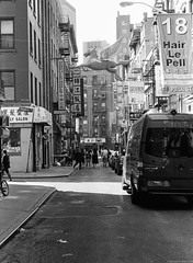 Chinatown, NYC. (setpower1) Tags: newyorkcity nyc bw leicam4 kodaktrix kodakd76 35mmfilm vintagefilmcamera bwyellowsc022filter epsonv550 leica50mmf2summicron chinatown