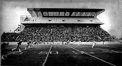 Construction of the Upperdeck at Winnipeg Stadium, 1978 (vintage.winnipeg) Tags: winnipeg manitoba canada vintage history historic construction