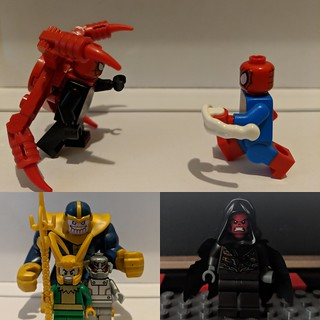 Spidey Ock vs Spider-Man Pete