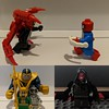 Spidey Ock vs Spider-Man Pete (Letgoofmylego) Tags: thanos ultron loki redskull stonekeeper infinitystones spiderman superiorspiderman spidey docock lego minifigures minifigs marvel comics