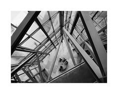A masterpiece of the 20th c. 21 (BLANCA GOMEZ) Tags: bilbao spain museum guggenheimmuseum museo arquitectura architecture building masterpiece artgallery arts workofart frankgehry thomaskrens bw blackwhite deconstructivism glass limestone titanium