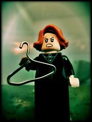No Wire Hangers (LegoKlyph) Tags: lego custom brick block mini figure hanger mommie dearest 80s horror evil woman crawford movie actor