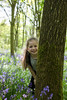 caitlin behind tree (grahamdale74) Tags: bluebells 2018 alyssia caitlin chel