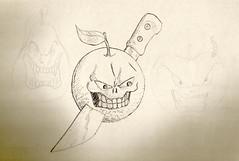 Natureza morta (Cesar Crash) Tags: antigo old drawings desenho esboço sketch caderno