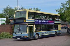 DD92. W652 SNN: Marshall, Sutton-on-Trent (chucklebuster) Tags: w652snn marshalls retford dennis trident east lancs nottingham city transport
