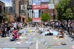 Denver Chalk Artists (photographyguy) Tags: denver artists chalk street larimersquare art people chalkart colorado downtowndenver