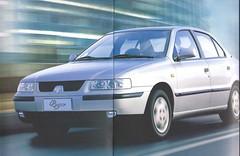 Iran Khodro Samand (Hugo-90) Tags: iran khodro samand peugeot car auto automobile voiture ads advertising brochure