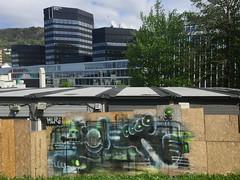 Hur (svennevenn) Tags: hur borkh graffiti bergen gatetekunstbergen streetartbergen gatekunst streetart bergengraffiti