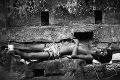 You Ain't In Heaven Yet (N A Y E E M) Tags: youngman retard vagabond homeless disabled sleep friday afternoon street sarsonvalley chittagong bangladesh carwindow