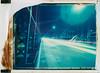 Lights at Hackerbrücke (Polaroid T669) (mmartinsson) Tags: 2018 night modelp bridge instantfilm hackerbrücke tungsten film 669 lighttrails expired mamiyasekor scan 75mm longexposure t669 epsonperfectionv700 polaroid mamiyauniversal analoguephotography cars münchen bayern tyskland de