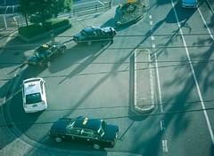 haunt (Kenji Kitae) Tags: car city morning taxi daily snap lifestyle lifework hiroshima japan