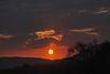 Fire In The Sky (Deepgreen2009) Tags: silhouette hills west glow orb fire orange