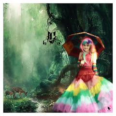 rainbow girl edit (M inspired by nature) Tags: elfia 2018 hans meulman