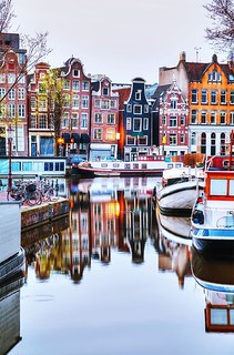 Houses in Amsterdam💙❤️