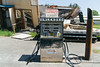 (travelkaefer) Tags: selfservice yalelake 2009 eatonville gas holz myroadtripamerica urlaub washington abandon decay gasstation old projectrt pump unleaded vereinigtestaaten usa wa sign 00er scrap schrott station tankstelle