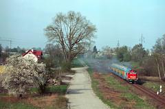 SU42-534 (pedro4d) Tags: su42 su42534 chojnice bipa pkp kolej pociąg pr polregio train railway mamiya 645 pro tl 15028 kodak ektar film analog medium format