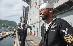 180426-N-BD308-0051 (U.S. Pacific Fleet) Tags: usswasp sailors usswasplhd1 sasebojapan japan