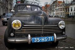Peugeot 203 (Ivan van Nek) Tags: langehaven schiedam thenetherlands peugeot203 peugeot paysbas nederland dieniederlande sonydscv3 sony v3 zuidholland car oldcar klassieker french classiccar antiek rusty