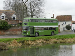 Nearly at journey's end. (Renown) Tags: bus doubledecker bristol vr vrt vrtsl6l ecw easterncoachworks southdown nbc nationalbusco preserved preservation heritage restored eastilsey berkshire