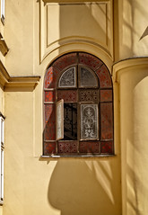 Window ornament (Tigra K) Tags: wien austria at 2017 architdetail city ornament stairs vienna window arch